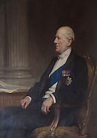Portrait of Augustus Charles Lennox FitzRoy, 7th Duke of Grafton (1790-1863)
