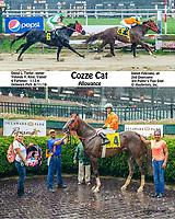 Cozze Cat winning at Delaware Park on 8/11/18