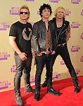Greenday at The 2011 MTV Video Music Awards held at Staples Center in Los Angeles, California on September 06,2012                                                                   Copyright 2012  DVS / Hollywood Press Agency