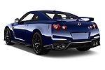 Car pictures of rear three quarter view of a 2018 Nissan GT-R Track Edition 5 Door Coupe angular rear