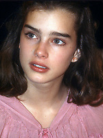 New York City<br /> 1978 FILE PHOTO<br /> Brooke Shields at Studio 54<br /> Photo by Adam Scull-PHOTOlink.net