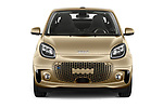 Car photography straight front view of a 2020 Smart EQ-fortwo Comfort-Plus 2 Door Convertible Front View