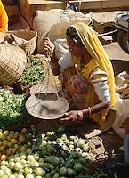 Markt in Jaisalmer (Rajasthan), Indien