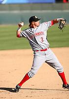 Justin Turner / Peoria Javelinas 2008 Arizona Fall League..Photo by:  Bill Mitchell/Four Seam Images