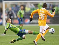 Seattle Sounders FC vs Houston Dynamo March 25 2011