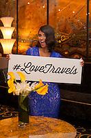 Marriott #LoveTravels Hispanic Campaign Shoot – Diane Guerrero at The Ritz Carlton, South Beach, onThursday, May, 06, 2015 in Miami Beach, Florida.Photo by Jesus Aranguren / AP Images for GREY