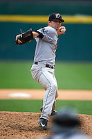 Scranton/Wilkes-Barre RailRiders pitcher Matt Tracy (55) delivers a pitch during a game against the Buffalo Bisons on June 10, 2015 at Coca-Cola Field in Buffalo, New York.  Scranton/Wilkes-Barre defeated Buffalo 7-2.  (Mike Janes/Four Seam Images)