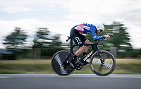 US TT champion Joey Rosskopf (USA/CCC)<br /> <br /> Stage 4 (ITT): Roanne to Roanne (26.1km)<br /> 71st Critérium du Dauphiné 2019 (2.UWT)<br /> <br /> ©kramon