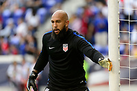 Harrison, NJ - Friday Sept. 01, 2017: Tim Howard prior to a 2017 FIFA World Cup Qualifier between the United States (USA) and Costa Rica (CRC) at Red Bull Arena.