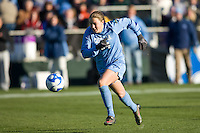North Carolina Tar Heels forward Courtney Jones (84). The North Carolina Tar Heels defeated the Notre Dame Fighting Irish 2-1 during the finals of the NCAA Women's College Cup at Wakemed Soccer Park in Cary, NC, on December 7, 2008. Photo by Howard C. Smith/isiphotos.com