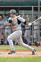 USF Bulls first baseman Todd Brazeal #33 during a game against the Ohio State Buckeyes at the Big Ten/Big East Challenge at Walter Fuller Complex on February 17, 2012 in St. Petersburg, Florida.  (Mike Janes/Four Seam Images)