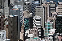 aerial photograph of skyscrapers in San Francisco, California