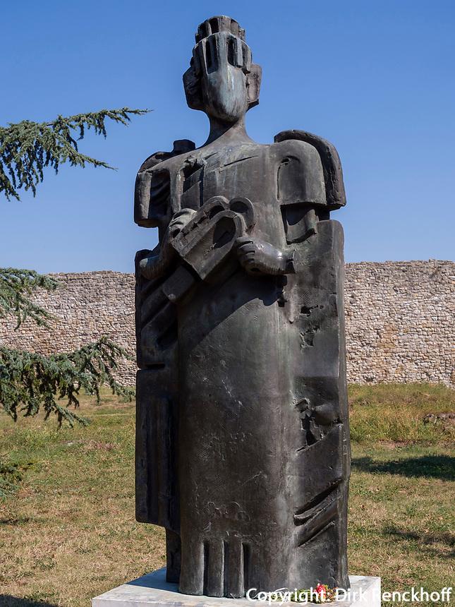 Denkmal, Festung Kalemegdan, Belgrad, Serbien, Europa<br /> monument  in the fortress Kalemegdan,  Belgrade, Serbia, Europe