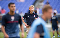 Juergen Klinsmann.  The United States defeated El Salvador, 5-1, during the quarterfinals of the CONCACAF Gold Cup at M&T Bank Stadium in Baltimore, MD.