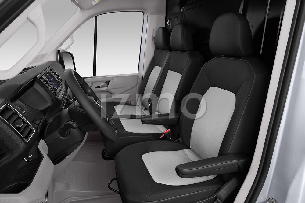 Front seat view of 2020 Volkswagen Crafter e-Crafter 4 Door Cargo Van Front Seat  car photos
