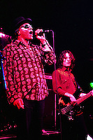 Pictured L-R: Arthur Lee and David Chapple 08 February 2004<br />