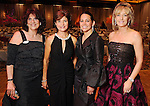From left: Donna Vallone, Lori Wolterman, Alina Garcia and Sheridan Williams at the 2010 Circle of Life Gala benefitting Pediatric and Adult Centers of Excellence in Neurosciences at the Hilton Americas Houston Saturday May 08,2010.  (Dave Rossman Photo)