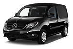 2017 Mercedes Benz Citan Perfect-Tool 5 Door Cargo Van Angular Front stock photos of front three quarter view
