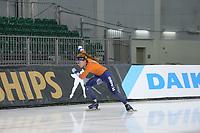 SPEEDSKATING: 12-02-2020, Utah Olympic Oval, ISU World Single Distances Speed Skating Championship, Antoinette de Jong (NED), ©Martin de Jong