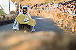 Team 踢我踢我  in action during the Red Bull Soapbox Race 2017 Taipei at Multipurpose Gymnasium National Taiwan Sport University on 01 October 2017, in Taipei, Taiwan. Photo by Victor Fraile / Power Sport Images