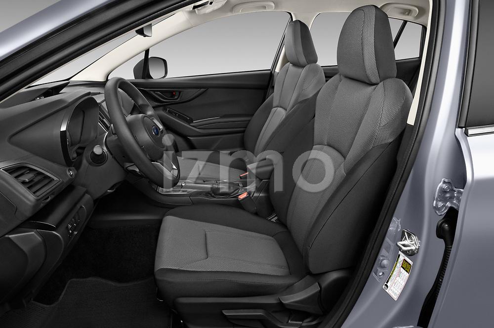 Front seat view of 2021 Subaru Crosstrek - 5 Door SUV Front Seat  car photos