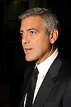 George Clooney speaks to the media before his  appearance at the Brilliant Lecture Series at the Wortham Theater Thursday May 3,2012. (Dave Rossman Photo)