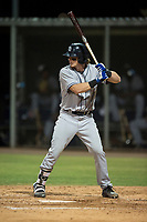 AZL Padres 1 designated hitter Nick Gatgewood (33) at bat during an Arizona League game against the AZL Cubs 1 at Sloan Park on July 5, 2018 in Mesa, Arizona. The AZL Cubs 1 defeated the AZL Padres 1 3-1. (Zachary Lucy/Four Seam Images)