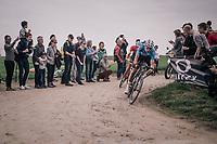 Wout Van Aert (BEL/Veranda's Willems-Crelan)<br /> <br /> 116th Paris-Roubaix (1.UWT)<br /> 1 Day Race. Compiègne - Roubaix (257km)
