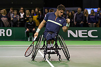 Rotterdam, The Netherlands, 16 Februari, 2018, ABNAMRO World Tennis Tournament, Ahoy, Tennis, Wheelchair, Fernandez<br /> <br /> Photo: www.tennisimages.com