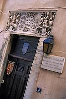 Europe/France/Corse/2A/Corse-du-Sud/Bonifacio: La maison Cattaciolo où l'empereur Charles Quint fut logé à son retour d'Alger en 1541