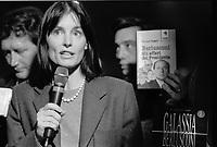 Lega Nord, Congresso Federale 1995, Palatrussardi Milano, contestazioni a Roberto Maroni
