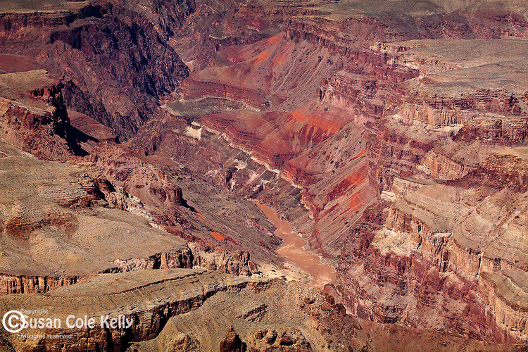The Inner Gorge of the Colorado River from Lipan Point, Grand Canyon National Park, AZ, USA