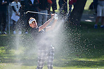 Ian Poulter of England gets his ball out of a bunker during the 58th UBS Hong Kong Golf Open as part of the European Tour on 09 December 2016, at the Hong Kong Golf Club, Fanling, Hong Kong, China. Photo by Vivek Prakash / Power Sport Images