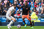 Luis Almeida da Cunha, Nani (r), of Valencia CF is challenged by Daniel Carvajal Ramos of Real Madrid during their La Liga match between Real Madrid and Valencia CF at the Santiago Bernabeu Stadium on 29 April 2017 in Madrid, Spain. Photo by Diego Gonzalez Souto / Power Sport Images