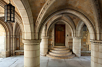 arches at Branford College, Yale University, New Haven, CT