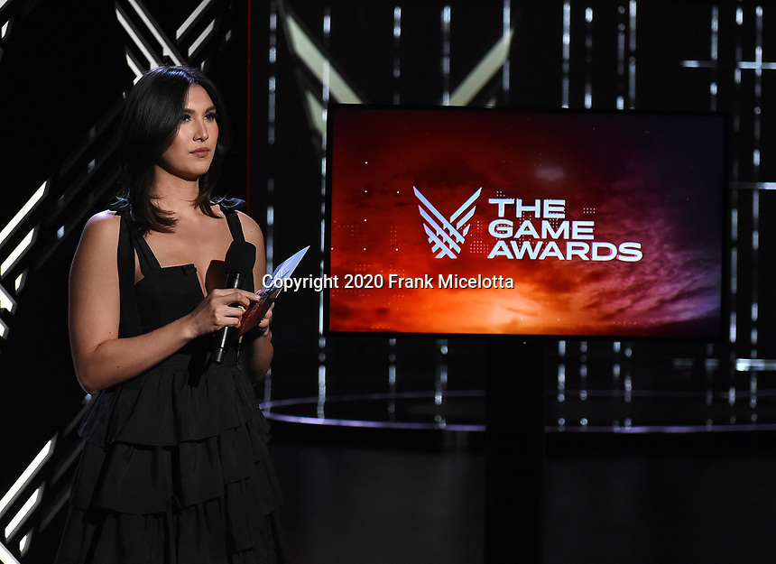 """HOLLYWOOD, CA - DECEMBER 10: Sydnee Goodman hosts """"The Game Awards 2020"""" pre-show in Hollywood, California on December 10, 2020. (Photo by Frank Micelotta/PictureGroup)"""
