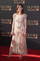 Ruth Wilson<br /> arriving for the Olivier Awards 2017 at the Royal Albert Hall, Kensington, London.<br /> <br /> <br /> ©Ash Knotek  D3245  09/04/2017