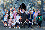 Fr Donal Looney Killarney celebrates his Golden Jubilee with his family at St Mary's Cathedral Killarney on Saturday