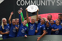 29th August 2020; Wembley Stadium, London, England; Community Shield Womens Final, Chelsea versus Manchester City; Magdalena Eriksson of Chelsea Women celebrates with the Community Shield