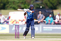 Tawanda Muyeye bats for Kent during Kent Spitfires vs Durham, Royal London One-Day Cup Cricket at The Spitfire Ground on 22nd July 2021