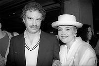Marie-Denise Pelletier<br /> lance l'album Reveur, en 1991<br /> (date exacte inconnue)<br /> <br /> PHOTO : Agence Quebec Presse