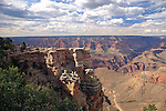 View from the South Rim of the Grand Canyon at Mather Point, Grand Canyon National Park, Arizona, USA