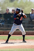 Lucas Montero -  Cleveland Indians - 2009 spring training.Photo by:  Bill Mitchell/Four Seam Images