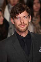 """Harry Treadaway<br /> at the Premiere of """"A Street Cat Named Bob"""", Curzon Mayfair, London.<br /> <br /> <br /> ©Ash Knotek  D3194  03/11/2016"""