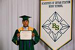 Coria Navarrete, Alejandro  received their diploma at Bryan Station High school on  Thursday June 4, 2020  in Lexington, Ky. Photo by Mark Mahan Mahan Multimedia