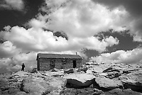 Smithsonian Hut, Mt. Whitney summit