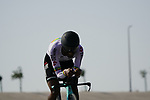 Tsgabu Gebremary Grmay (ETH) Team BikeExchange during Stage 2 of the 2021 UAE Tour an individual time trial running 13km around  Al Hudayriyat Island, Abu Dhabi, UAE. 22nd February 2021.  <br /> Picture: Eoin Clarke | Cyclefile<br /> <br /> All photos usage must carry mandatory copyright credit (© Cyclefile | Eoin Clarke)