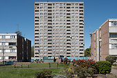 Exeter Court, sceduled for demolition, South Kilburn Estate, London Borough of Brent.