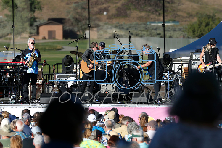 Firefall performs at the 11th annual Concert Under the Stars fundraiser for The Greenhouse Project, in Carson City, Nev., on Wednesday, July 10, 2019.<br /> Photo by Cathleen Allison/Nevada Momentum