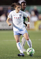 Karen Carney..Saint Louis Athletica were defeated 1-0 by Chicago Red Stars.